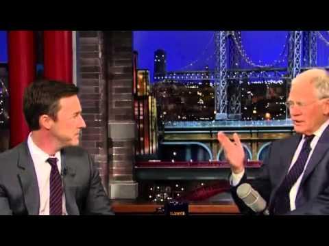 Edward Norton on David Letterman Full Interview