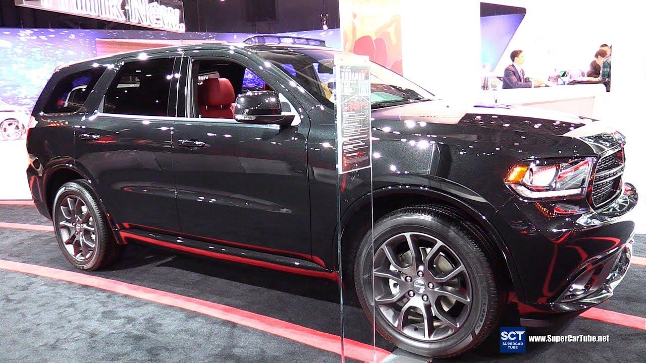 2016 Dodge Durango R/T   Exterior And Interior Walkaround   2016 New York  Auto Show   YouTube