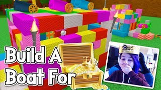 ROBLOX Build A Boat For Treasure | Easter For The Win?