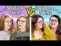 2 Sets Of IDENTICAL TWINS Try The Twin Telepathy Challenge
