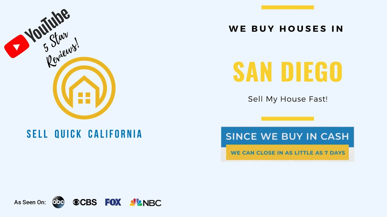 We Buy Houses In San Diego California [Real Estate Investor Property Walk Through]