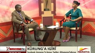 Kurung'a Igiri na Geoffrey Mwangi C.E.O wa NHIF