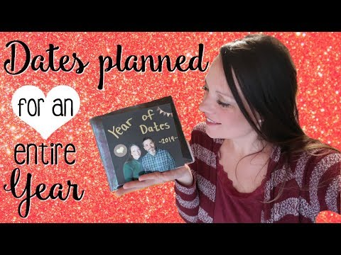 Date Ideas || Entire Year of Dates DIY