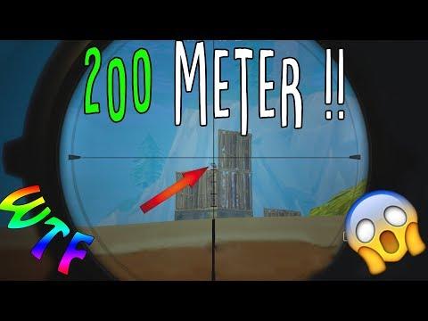 Sniper HEADSHOT aus 200 Meter | Fortnite Battle Royale