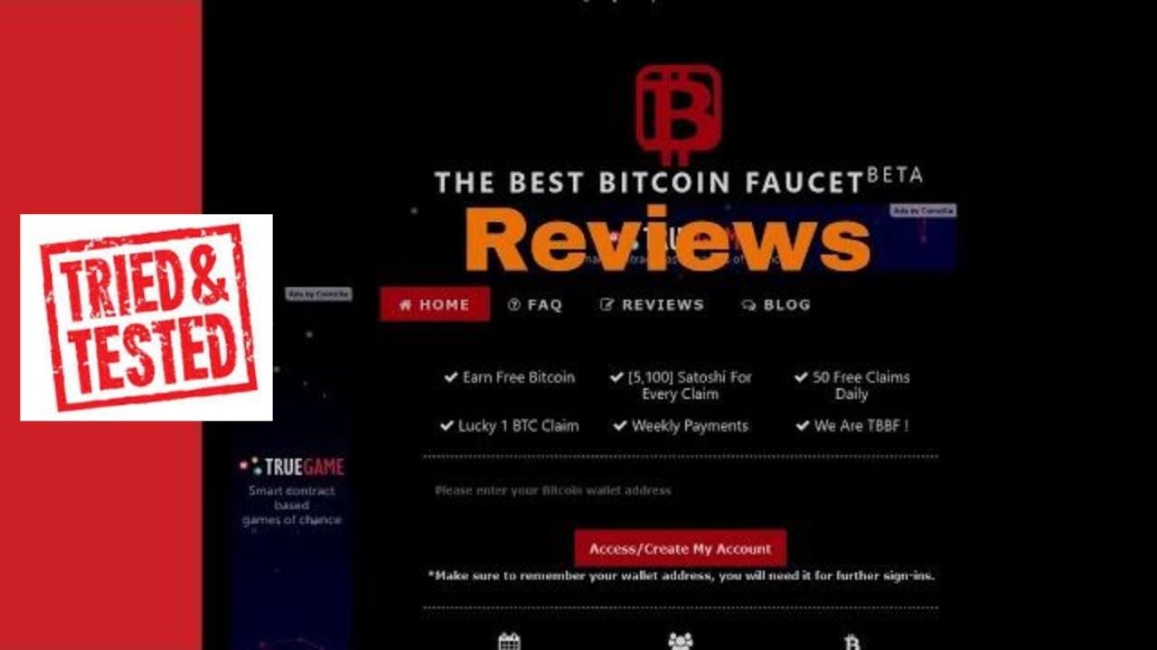 The best 3 bitcoin faucets earn free