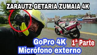 Cover images Mi primer vídeo 4K con GoPro 6 y adaptador cable micrófono externo 😍 Zarautz Getaria Zumaia ✌🏻
