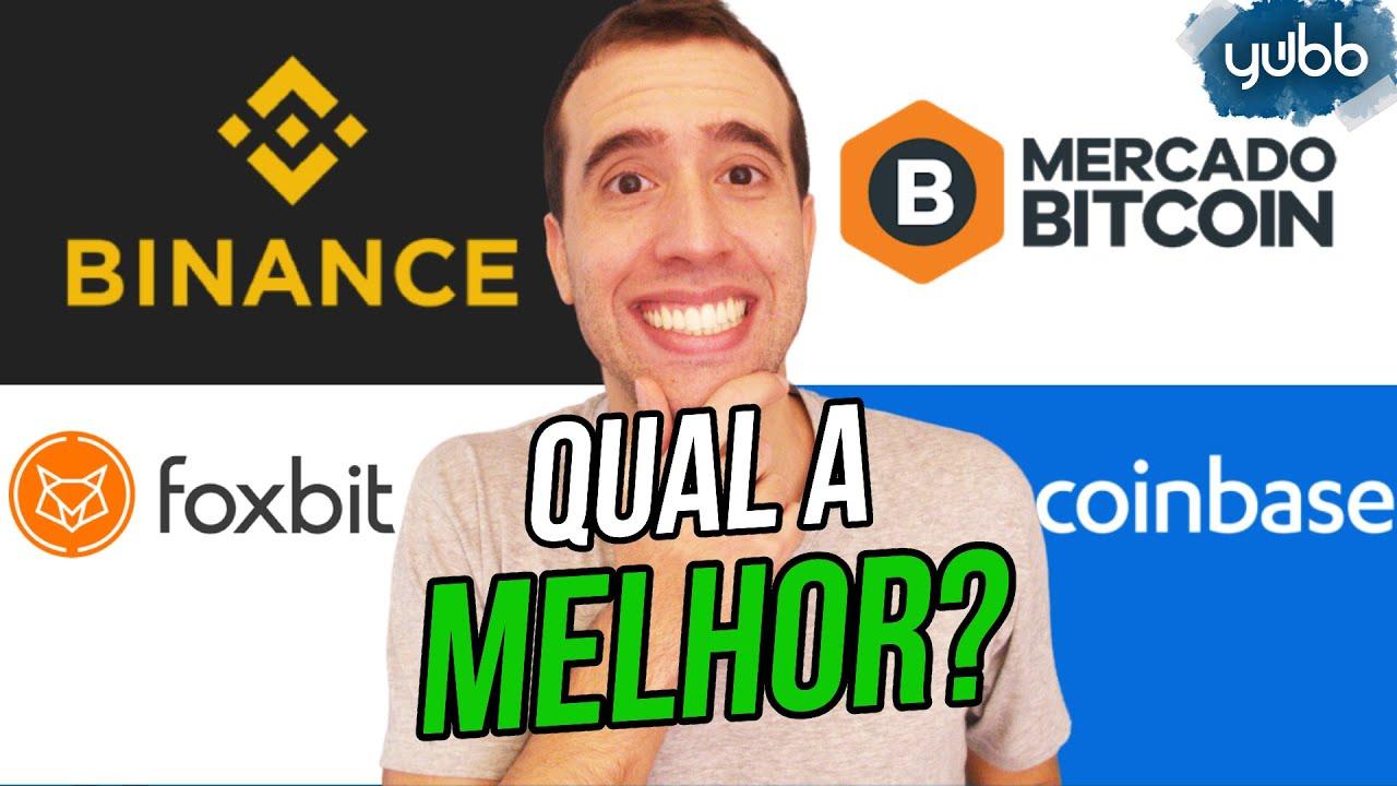 Melhores corretoras para investir em criptomoedas (Mercado Bitcoin, FoxBit, Binance, Coinbase...)