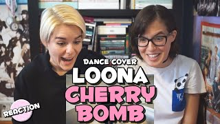 "Gambar cover LOONA (이달의 소녀) - NCT 127 ""CHERRY BOMB"" ★ DANCE COVER REACTION"