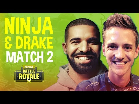Drake Bets Ninja 5k!?! Match 2 - Fortnite Battle Royale Gameplay