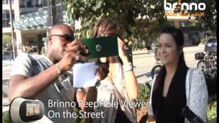 Brinno PeepHole Viewer- On the street