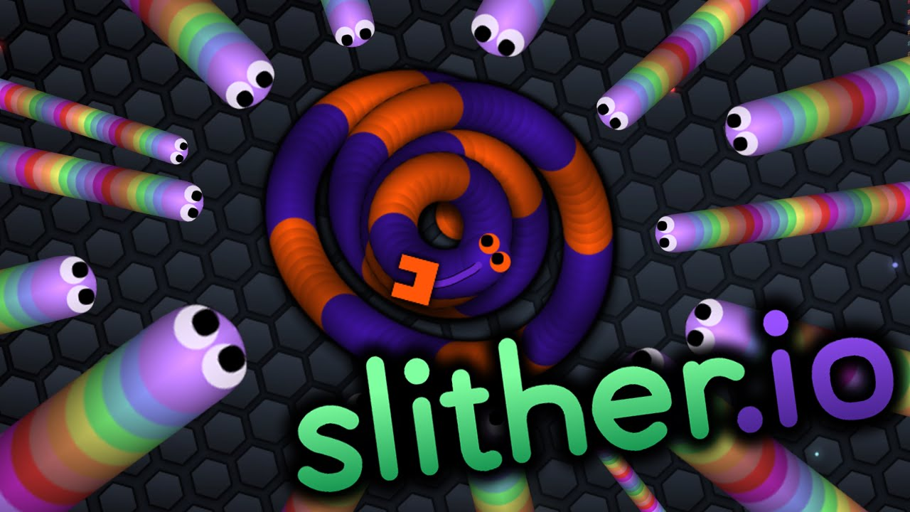 slither io jeux