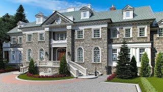 видео Проект дома из камня. Фасады и проекты домов из камня и дерева