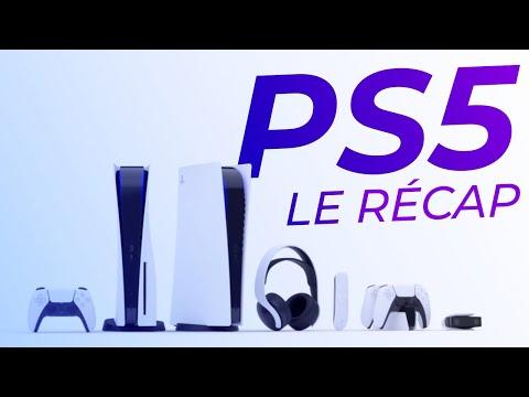 Le Design des PS5 et leurs JEUX dévoilés !