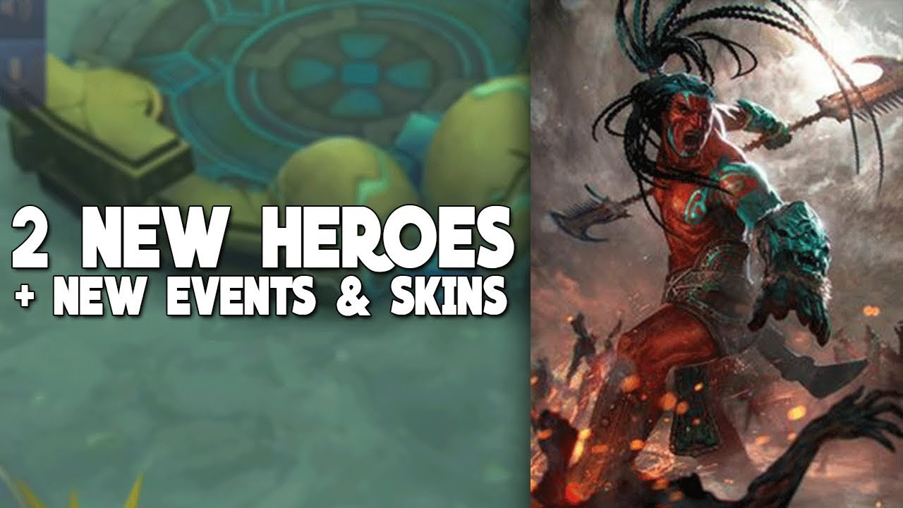 NEW HERO FROM MALAYSIA NEW SKINS Mobile Legends