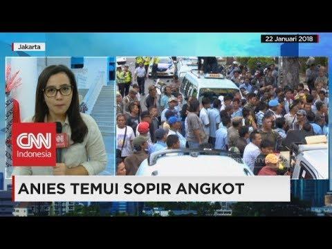 Sopir Angkot Tanah Abang Kembali Demo; Anies Baswedan Akan Temui Sopir Angkot
