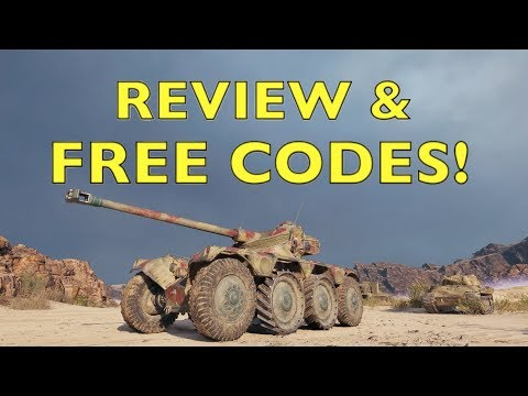WOT - EBR 75 FL 10 Review & Free CODES! | World of Tanks