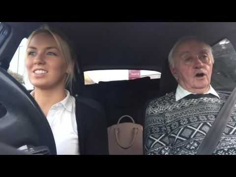 Alzheimer's car karaoke!