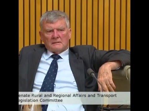 """Fuck that's risky shit"" - Australian Senator"