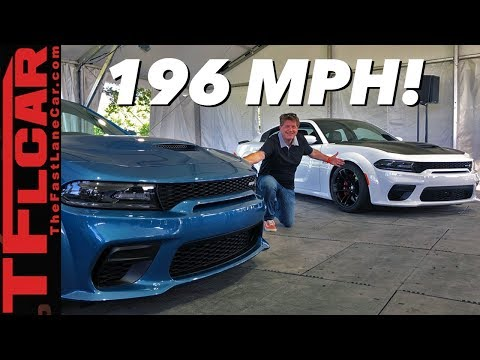 Breaking News: Dodge Stuns With The New 2020 Charger Hellcat Widebody!