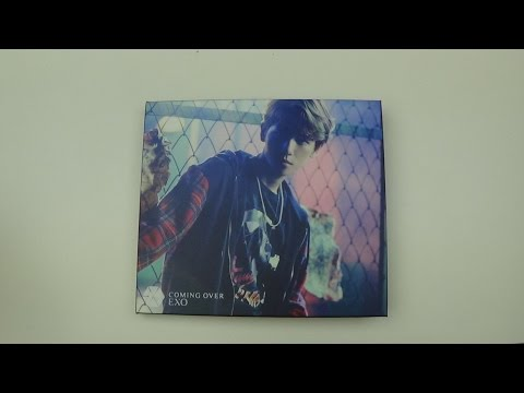 Unboxing EXO 2nd Japanese Single Album Coming Over (Baekhyun Version)
