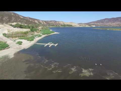 DJI Footage Of Vail Lake
