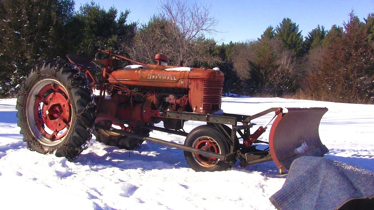 Plowing With The Farmall