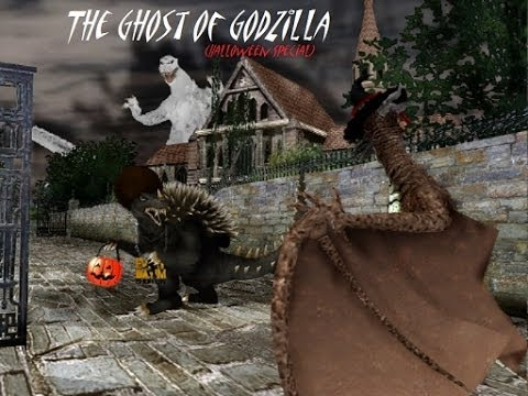 MMD Godzilla The Ghost of Godzilla (LATE Halloween Special)
