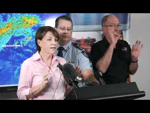 Media Conference - 11:30am TC Yasi briefing, Speaker Premier Anna Bligh, Wednesday Feb 2