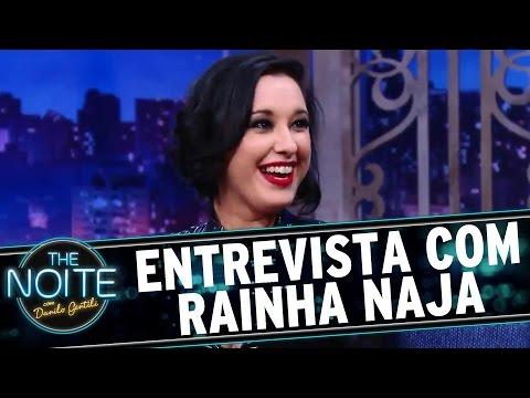 The Noite (08/09/16) - Entrevista com Rainha Naja