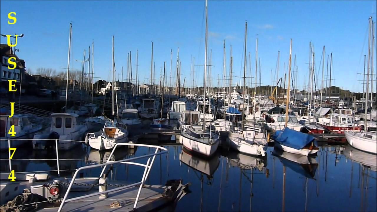 Le port de paimpol dans les cotes d 39 armor janvier 2014 youtube - Port de peche cote d armor ...