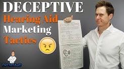 Deceptive Hearing Aid Marketing Tactics | The Truth About Hearing Aid Marketing