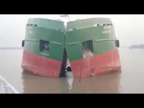 Split Hopper Barge (converted)