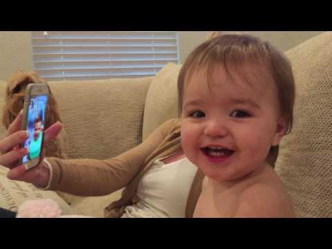 Babies Video Chat With Each Other