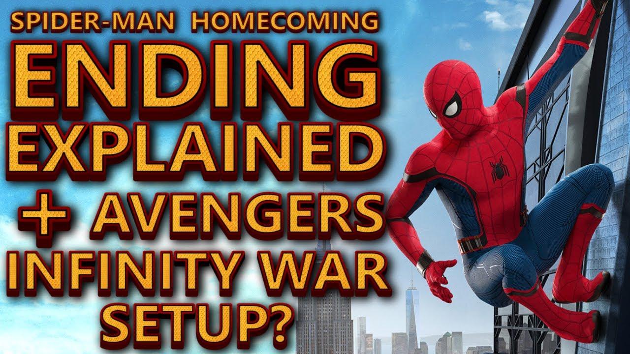 spider-man homecoming ending explained breakdown and avengers