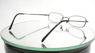 ハクサンガンキョウテン 白山眼鏡店 スクエア型メタルフレーム TITANIUM 9,500円 thumbnail