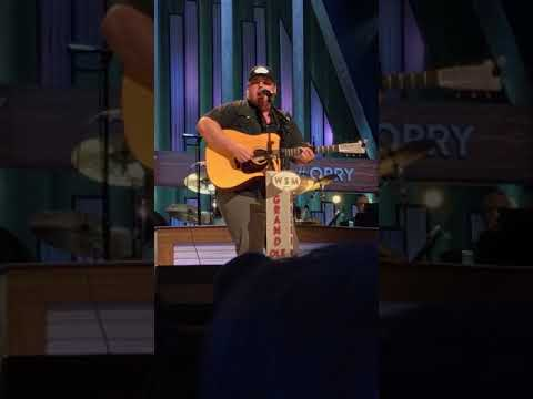Grand Ole Opry Luke Combs Singing Hurricane Live September 18, 2018