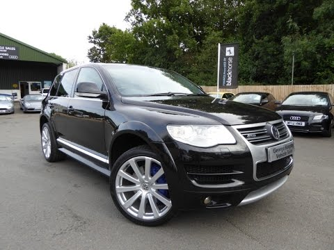 Touareg R50 V10 Tdi For Sale at George Kingsley Vehicle Sales, Colchester, Essex. 01206 728888