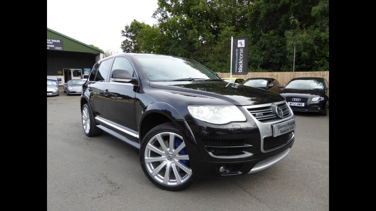 touareg r50 v10 tdi for sale at george kingsley vehicle sales colchester essex 01206 728888. Black Bedroom Furniture Sets. Home Design Ideas