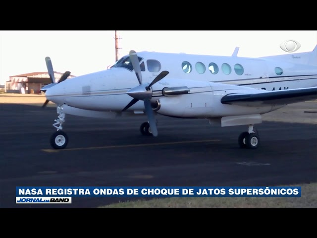 Nasa registra ondas de choque de jatos supersônicos