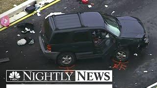 NSA Gate Crashers Were On Joyride In Stolen SUV | NBC Nightly News