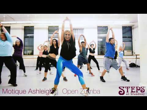 Motique Ashleigh | Open Zumba | Steps on Broadway