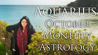 Aquarius  Monthly Astrology Forecast October 2015 Michele Knight