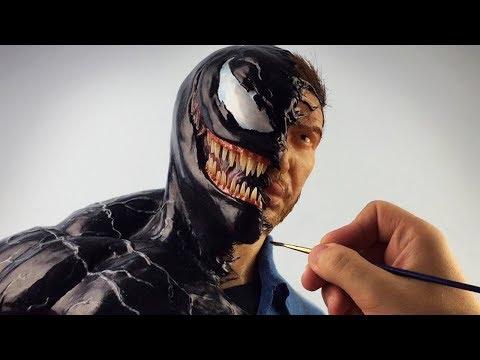 Venom Sculpture Timelapse - Venom