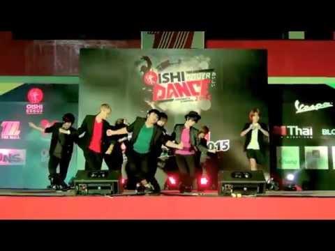 150801 The Agnize cover Super Junior - Devil @OISHI Thailand Cover Dance 2015 (Audition)