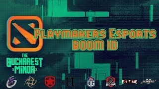 Playmakers vs BOOM ID | The Bucharest Minor