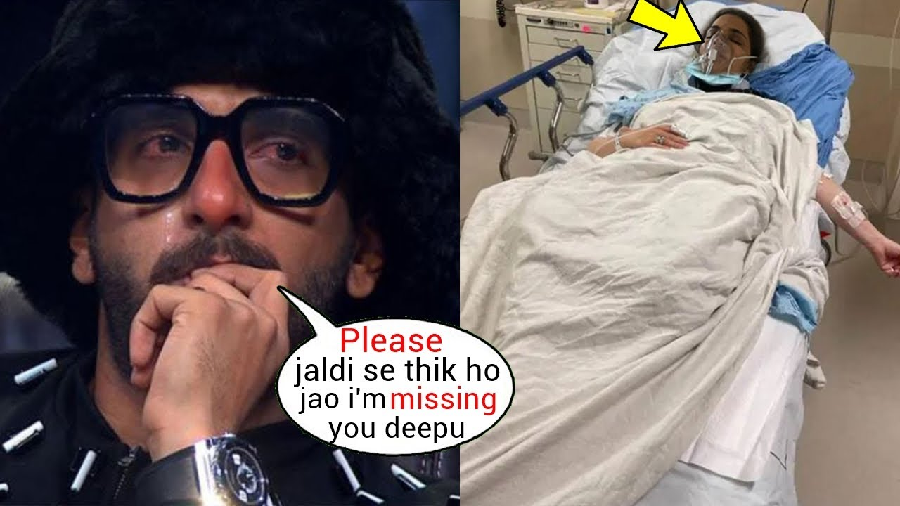 Download Ranveer Singh finally Reacts on Deepika Padukone Hospitalised due to Covid after her Father Prakash