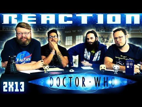 "Doctor Who 2x13 REACTION!! ""Doomsday"""