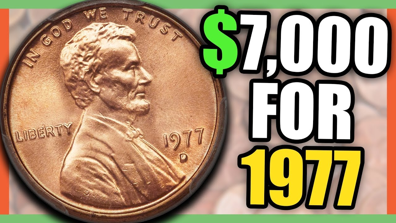 LOOK OUT FOR THESE RARE 1977 PENNY COINS - RARE PENNIES WORTH MONEY!!