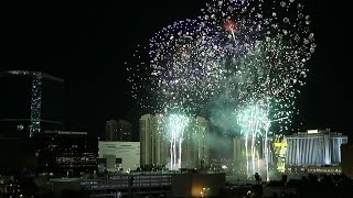 Implosion of the Riviera Hotel and Casino--Las Vegas 2016