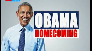 Former US president Barack Obama will be accompanied by over 1,000 guests during his Kenyan visit